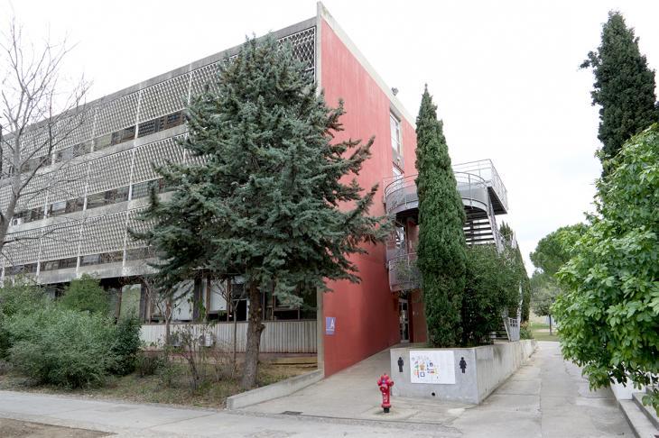 photo de l'extérieur du bâtiment A