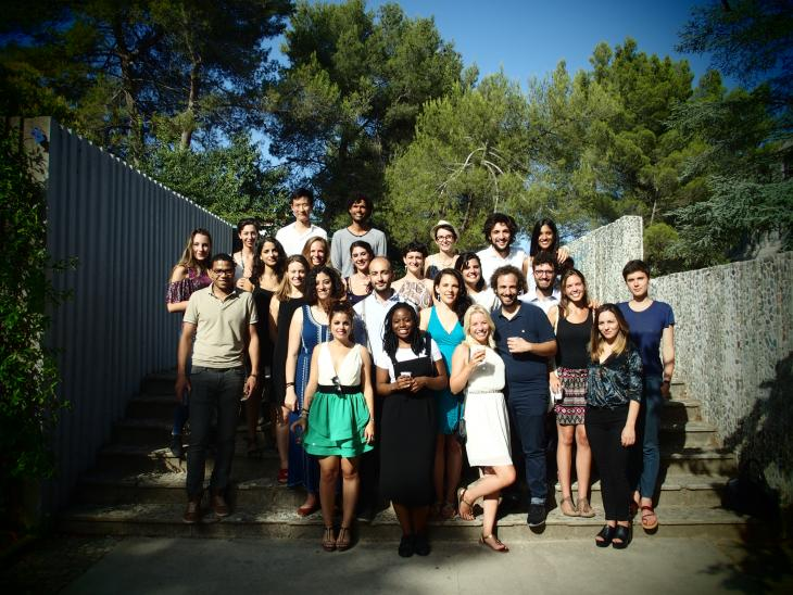 photo des étudiants du master MIM 2015-2017