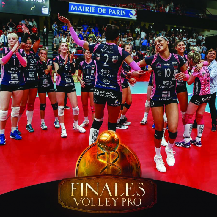 photo des championnes de France de volley